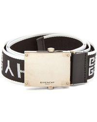Givenchy - Logo Jacquard Belt - Lyst