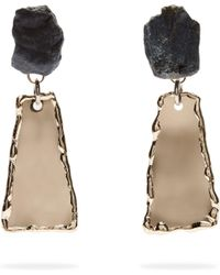 Proenza Schouler - Stone Hammered Clip On Earrings - Lyst