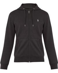 Polo Ralph Lauren - Zip-through Hooded Jersey Sweatshirt - Lyst