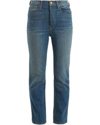 The Great | The Straight A High-rise Jeans | Lyst