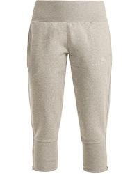 adidas By Stella McCartney - Essential Cotton-blend Track Trousers - Lyst