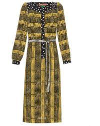 Duro Olowu - Harlem Deco-print Crepe Dress - Lyst