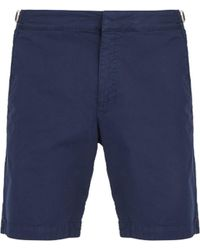 Orlebar Brown - Dane Ii Cotton Blend Twill Shorts - Lyst