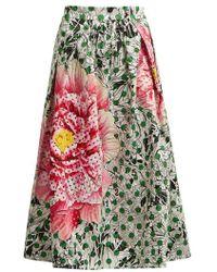 Mary Katrantzou - Bowles High-waist Printed Skirt - Lyst