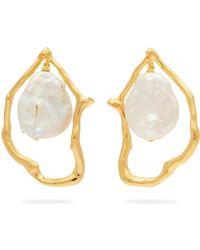Lizzie Fortunato - Formation Pearl Drop Earrings - Lyst