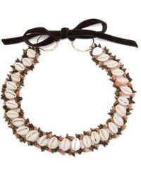 Heimat Atlantica - - Sybile Shell Choker Necklace - Womens - Multi - Lyst