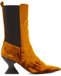 Marques'Almeida - Hourglass Heel Boots - Lyst