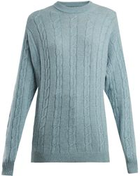 CONNOLLY - Clarke Cable Knit Cashmere Jumper - Lyst