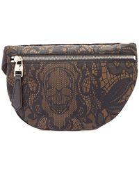 3d8405e867 Philipp Plein. Branded Shoulder Bag. $255. VITKAC. Alexander McQueen - Skull  Print Belt Bag - Lyst