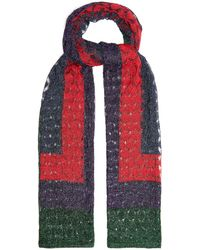 Missoni - Geometric Fine Knit Scarf - Lyst