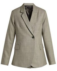 Nili Lotan - Classon Single-breasted Wool Jacket - Lyst