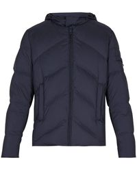 Prada - Hooded Matte Down-quilted Jacket - Lyst