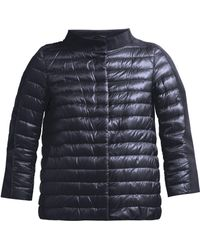 Herno - Panelled Quilted Down Jacket - Lyst