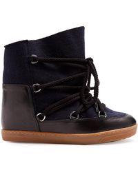 Isabel Marant | Nowles Shearling-lined Aprés-ski Boots | Lyst