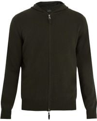 Allude - Hooded Zip-through Cashmere Sweater - Lyst