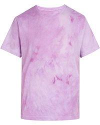 Audrey Louise Reynolds - Tie-dye Cotton-jersey T-shirt - Lyst