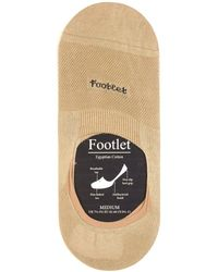 Pantherella - Footlet Cotton Blend Shoe Liners - Lyst