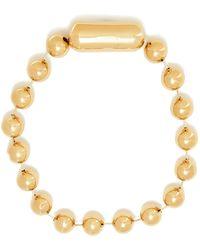 Balenciaga - Oversized Bead-embellished Necklace - Lyst