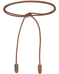 Acne Studios - Rope Leather Belt - Lyst
