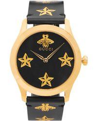 ad2b4df1d9b Gucci Gold Medium G-timeless Bee Watch in Metallic for Men - Lyst