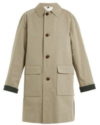 Burberry - Unisex Padded Cotton Trench Coat - Lyst