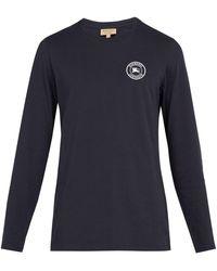 Burberry - Jensen Long-sleeved Cotton T-shirt - Lyst