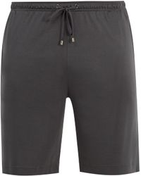 Zimmerli - Cotton-blend Jersey Pyjama Shorts - Lyst
