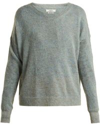c8fd80e09a50a9 Lyst - Étoile Isabel Marant Clifton Mohair Sweater in White