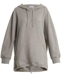 Balenciaga - Cocoon Hooded Sweatshirt - Lyst