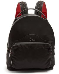 Christian Louboutin - Backloubi Small Spike-embellished Backpack - Lyst