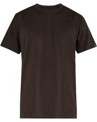 Rag & Bone - James Speckled Cotton T Shirt - Lyst