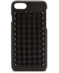 Christian Louboutin - Loubiphone Leather Iphone® 8 Case - Lyst