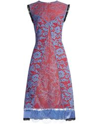 Altuzarra - Harry Lace-overlay Dress - Lyst