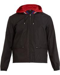 Gucci - Logo-print Hooded Technical Jacket - Lyst