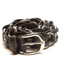 Isabel Marant - Faithful Tehora Leather Waist Belt - Lyst