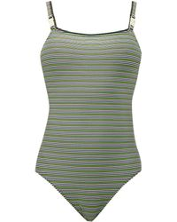 Solid & Striped - The Nina Logo Swimsuit - Lyst
