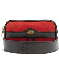 Gucci - Ophidia Small Suede Belt Bag - Lyst