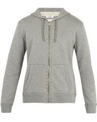 Valentino - Sweat-shirt zippé Rockstud Untitled #8 - Lyst