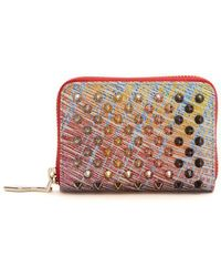 Christian Louboutin - Panettone Suede Coin Purse - Lyst