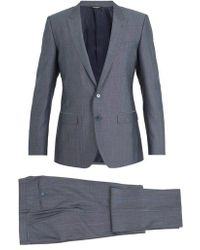 Dolce & Gabbana - Martini Silk And Wool-blend Suit - Lyst