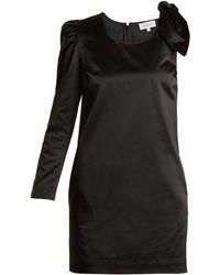Isa Arfen - Asymmetric Duchess-satin Dress - Lyst