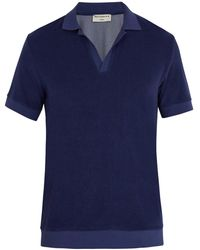 Éditions MR - Terry Toweling Cotton-blend Polo Shirt - Lyst
