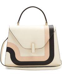Valextra - Iside Medium Grained Leather Bag - Lyst