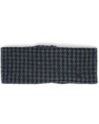 Maison Michel - Tod Dogstooth Wool-blend Headband - Lyst