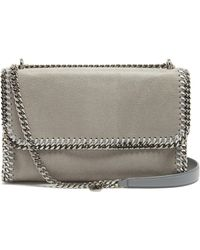 Stella McCartney - Falabella Faux-suede Sliding Shoulder Bag - Lyst
