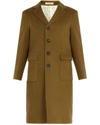 Massimo Alba - Patch-pocket Wool Coat - Lyst