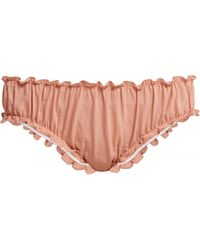 Loup Charmant - Bloomer Organic Cotton Briefs - Lyst