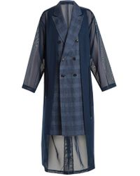 Toga - Trench-coat oversize à double boutonnage - Lyst