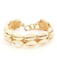 Isabel Marant - Shell-embellished Bracelet - Lyst