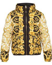 Versace - Veste à capuche à imprimé baroque - Lyst